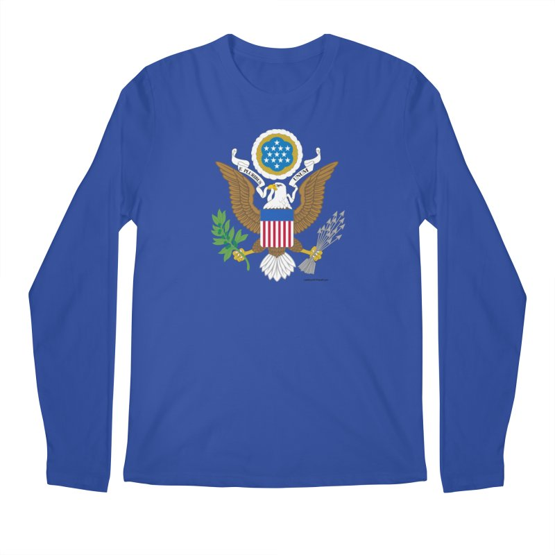 Great Seal of the United States Men's Longsleeve T-Shirt by Last Door on the Left