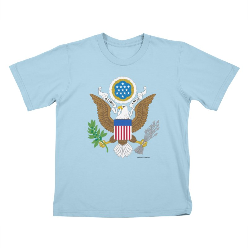 Great Seal of the United States Kids T-Shirt by Last Door on the Left
