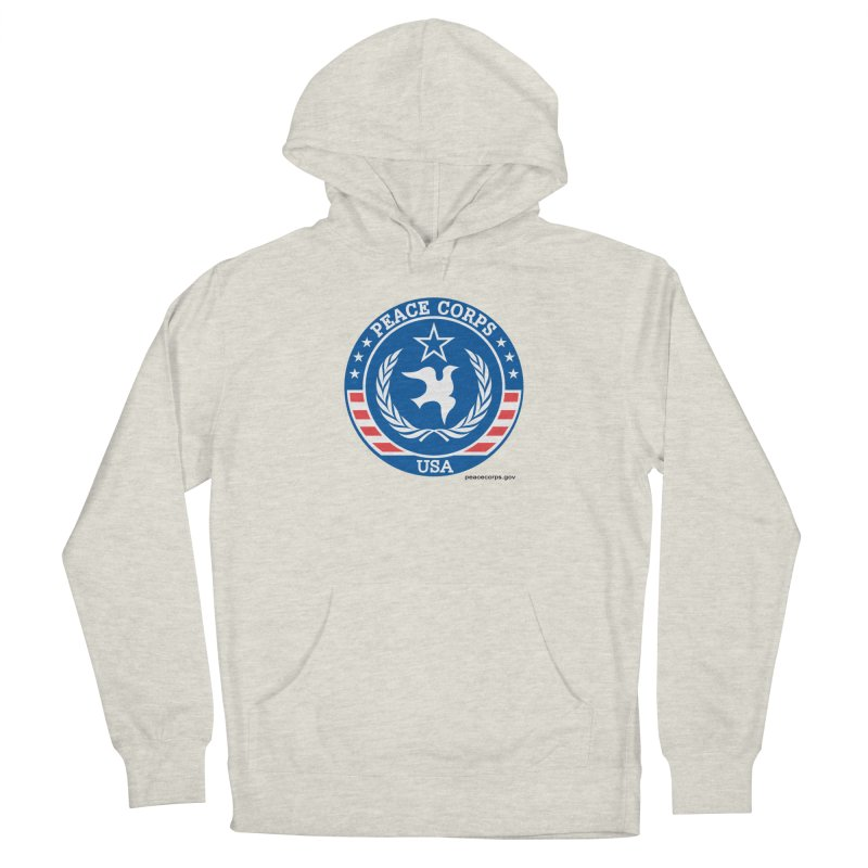 USA Peace Corps Retro Women's Pullover Hoody by Last Door on the Left