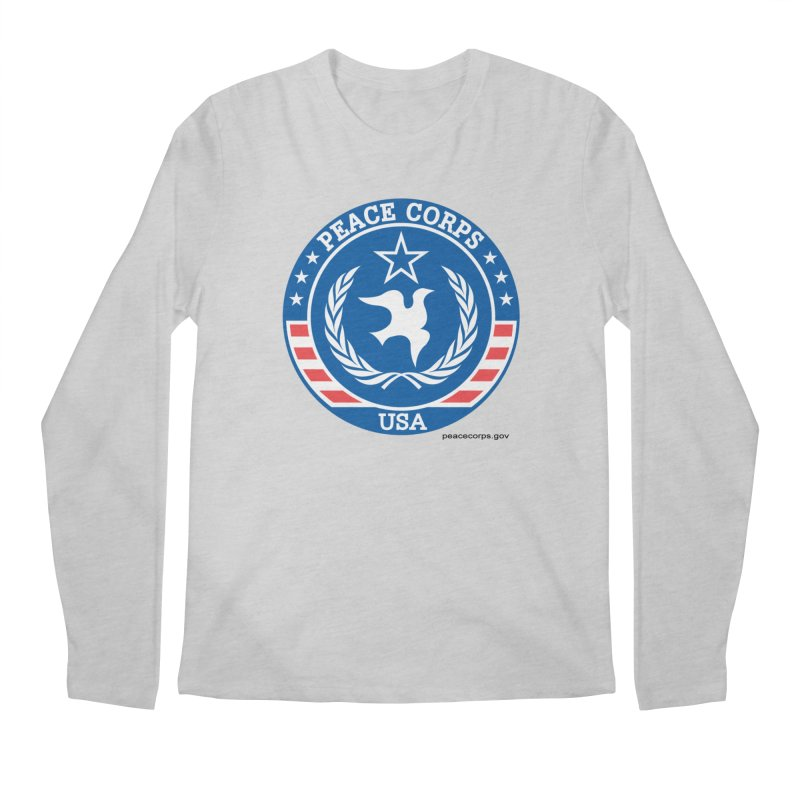 USA Peace Corps Retro Men's Longsleeve T-Shirt by Last Door on the Left