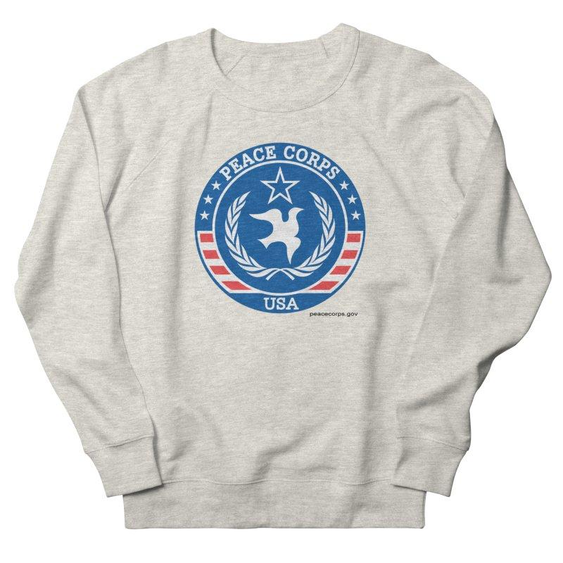 USA Peace Corps Retro Men's Sweatshirt by Last Door on the Left
