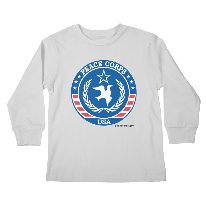 USA Peace Corps Retro Kids Longsleeve T-Shirt by Last Door on the Left