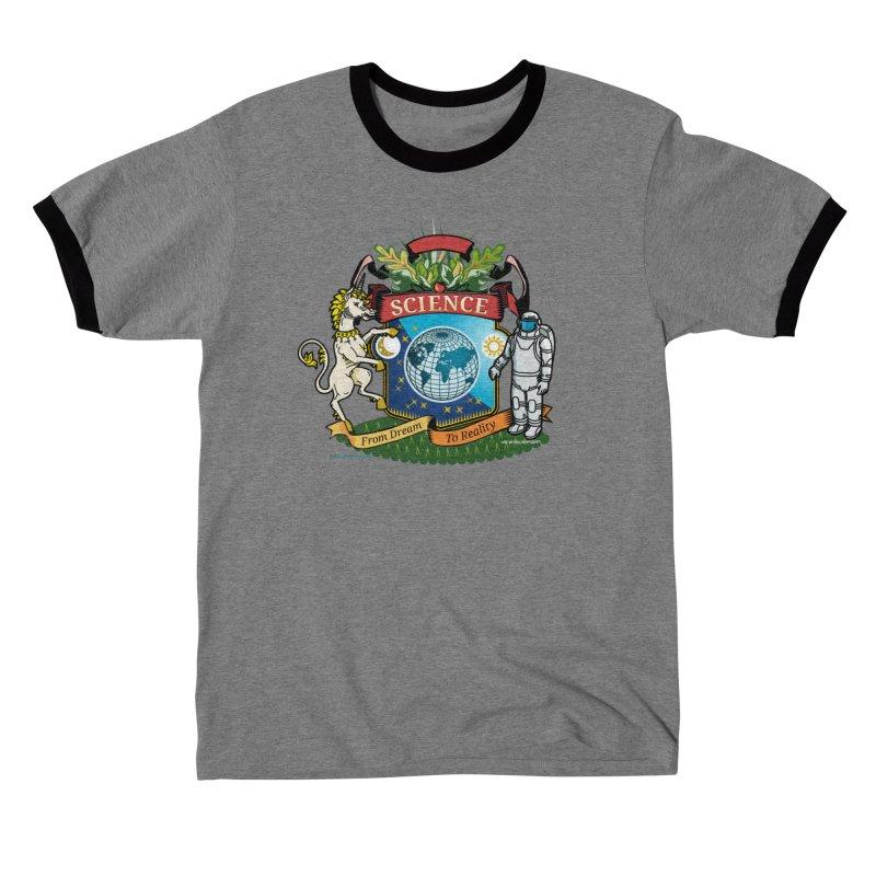 Science Coat of Arms Women's T-Shirt by Last Door on the Left