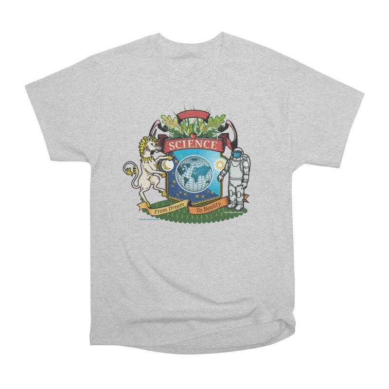 Science Coat of Arms Men's T-Shirt by Last Door on the Left