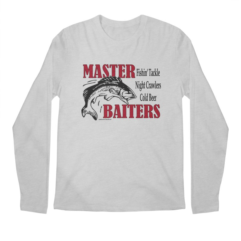 Master Baiters Men's Longsleeve T-Shirt by Last Door on the Left