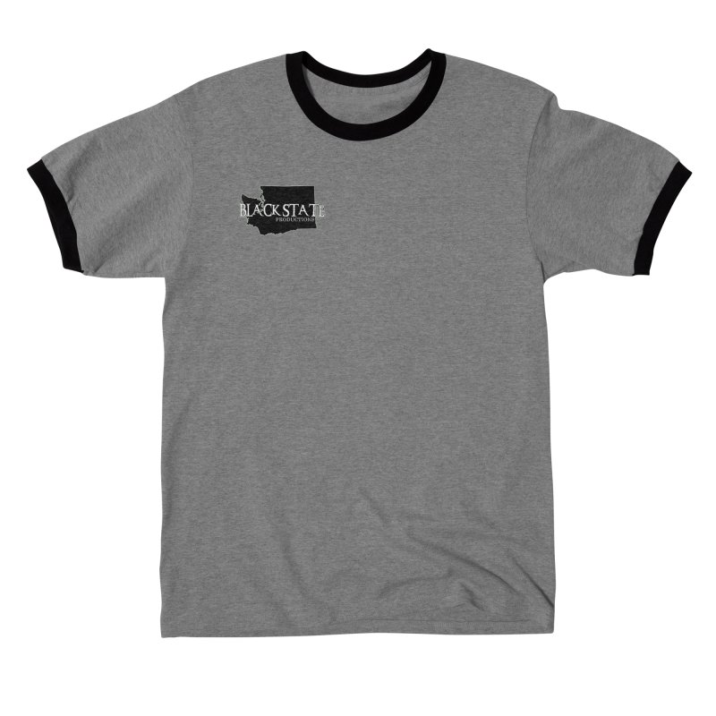 Black State Lil Logo Men's T-Shirt by Last Door on the Left