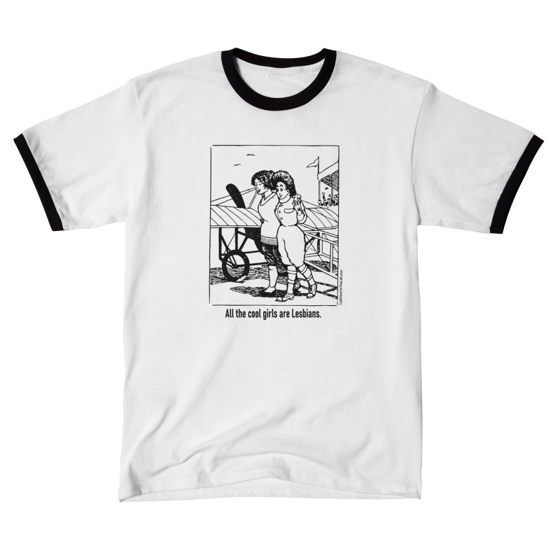 All The Cool Girls are Lesbians. Men's T-Shirt by Last Door on the Left