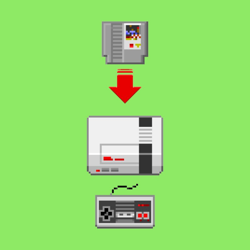 The Mighty NES by lastpixel's Artist Shop
