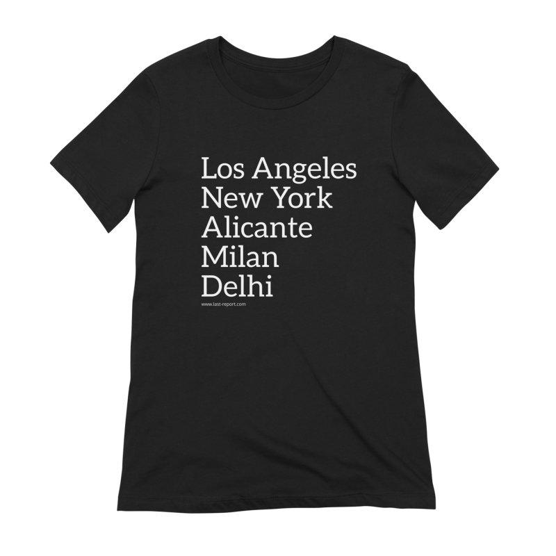 Shoe Cities Pt.1 Women's T-Shirt by Shop Last-Report
