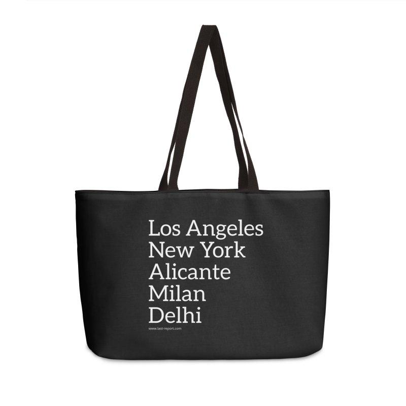 Shoe Cities Pt.1 in Weekender Bag by Shop Last-Report
