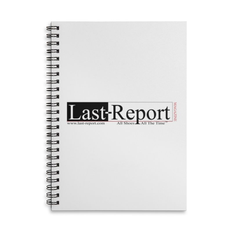 Last-Report Accessories Lined Spiral Notebook by Shop Last-Report