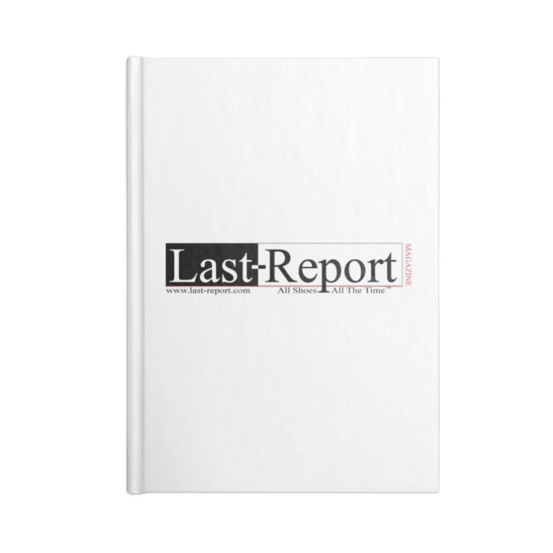Last-Report Accessories Lined Journal Notebook by Shop Last-Report