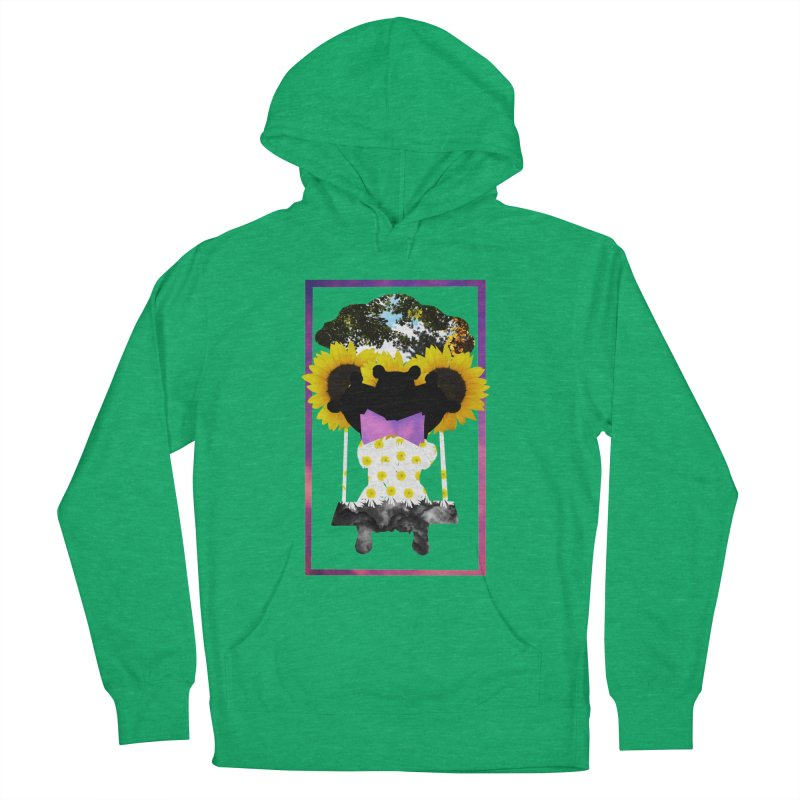 #nonbinarybear Women's Pullover Hoody by Later Louie's Artist Shop