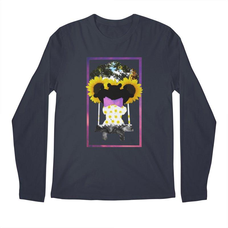 #nonbinarybear Men's Longsleeve T-Shirt by Later Louie's Artist Shop