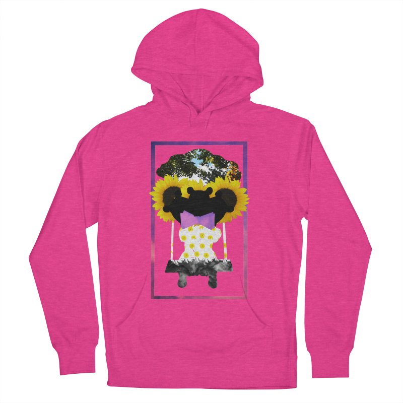 #nonbinarybear Women's French Terry Pullover Hoody by Later Louie's Artist Shop