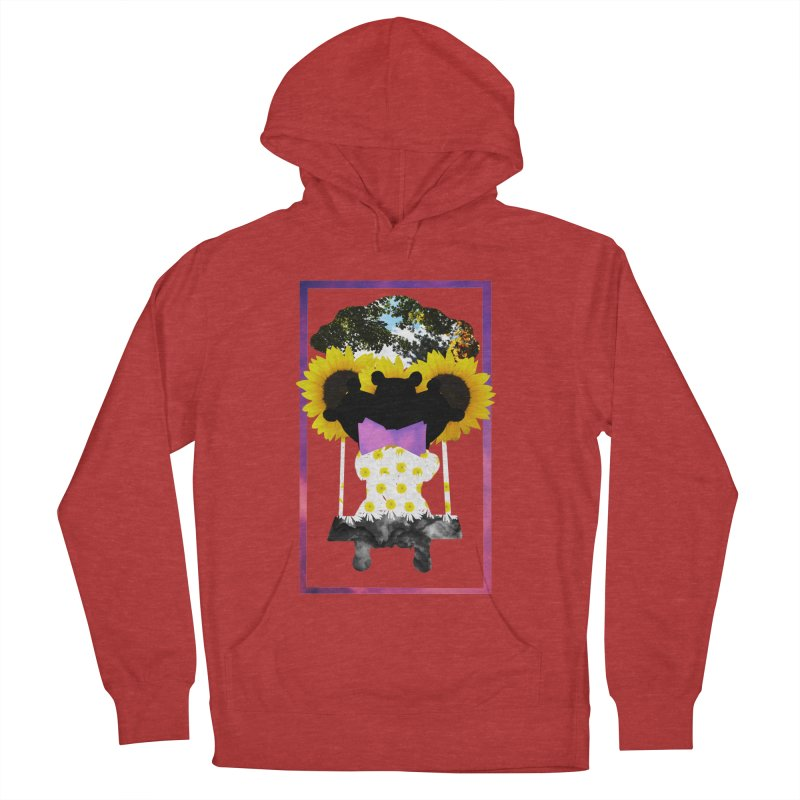 #nonbinarybear Men's French Terry Pullover Hoody by Later Louie's Artist Shop
