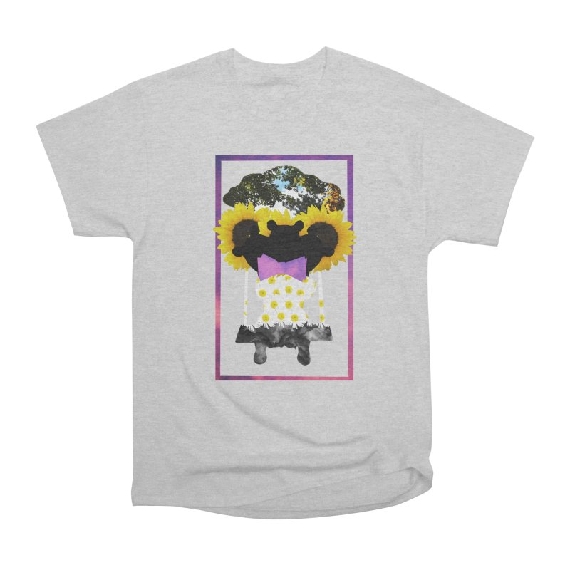 #nonbinarybear Men's Heavyweight T-Shirt by laterlouie's Artist Shop