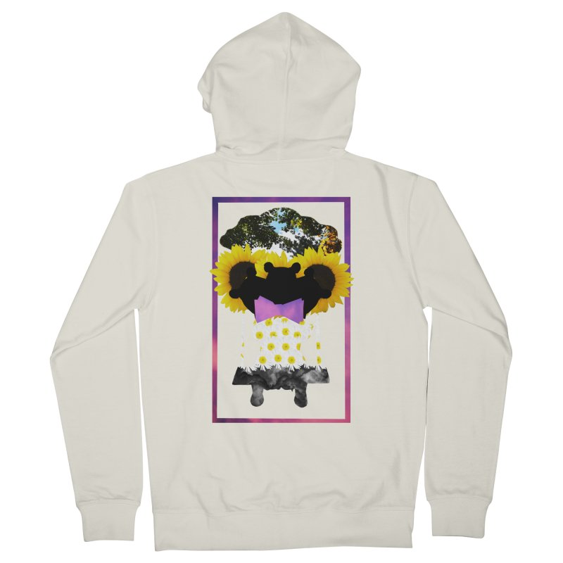 #nonbinarybear Men's Zip-Up Hoody by laterlouie's Artist Shop