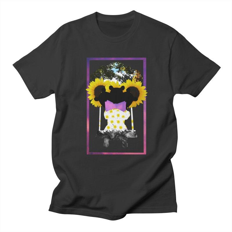 #nonbinarybear Men's Regular T-Shirt by Later Louie's Artist Shop