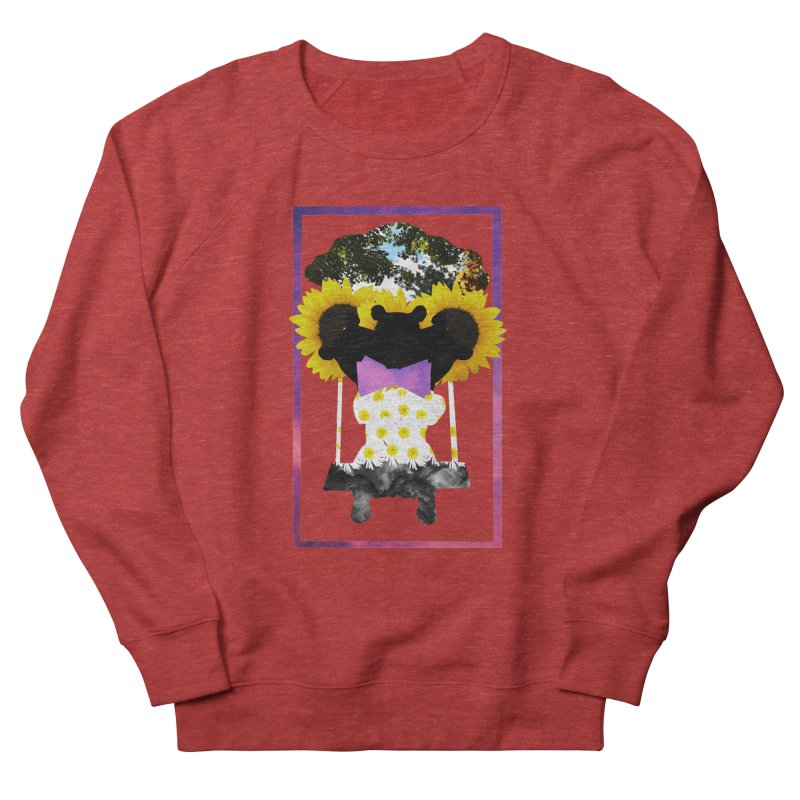 #nonbinarybear Women's French Terry Sweatshirt by laterlouie's Artist Shop