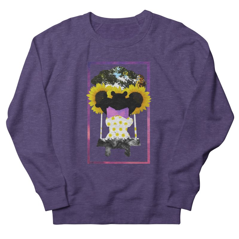 #nonbinarybear Men's French Terry Sweatshirt by Later Louie's Artist Shop