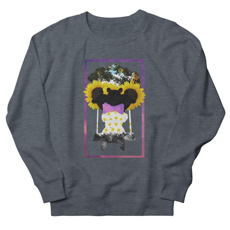#nonbinarybear Men's French Terry Sweatshirt by laterlouie's Artist Shop