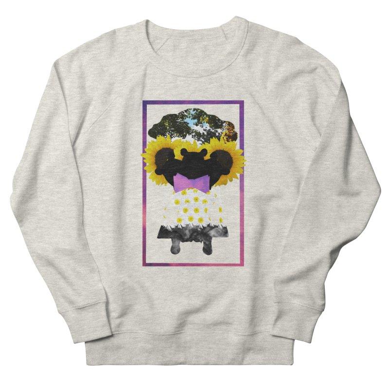 #nonbinarybear Men's French Terry Sweatshirt by Later Louie's Artist Shop