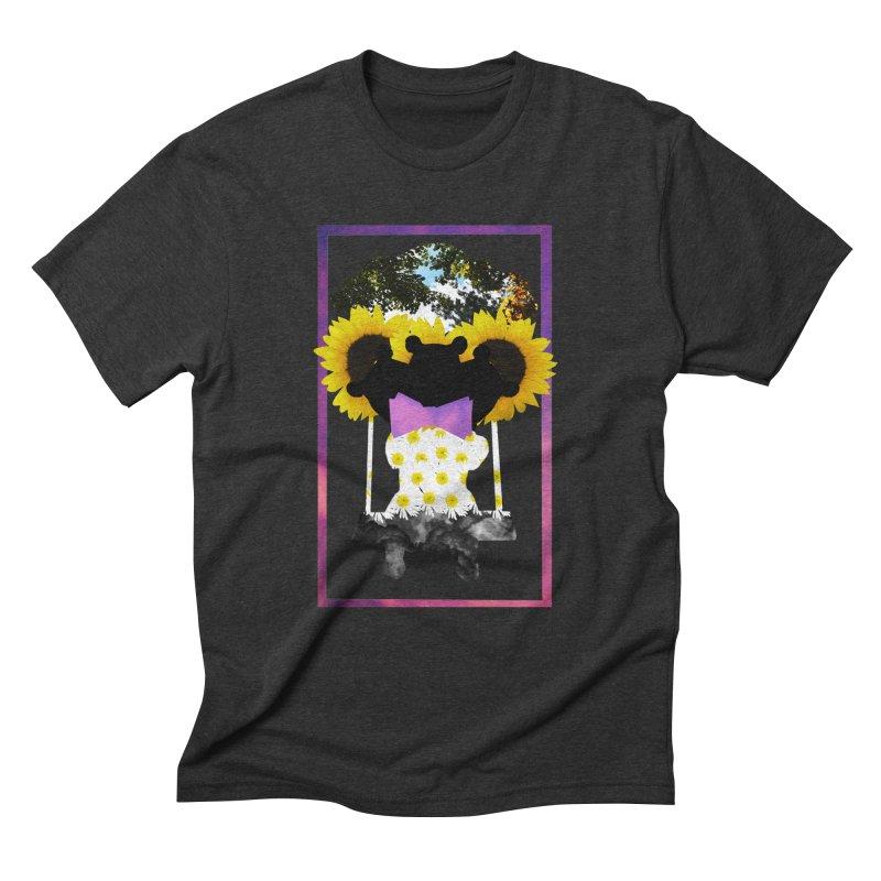 #nonbinarybear Men's Triblend T-Shirt by Later Louie's Artist Shop