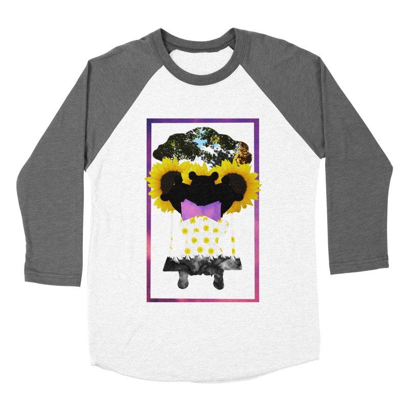 #nonbinarybear Women's Baseball Triblend Longsleeve T-Shirt by laterlouie's Artist Shop