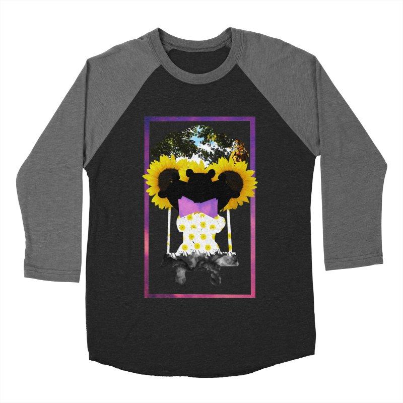 #nonbinarybear Men's Baseball Triblend Longsleeve T-Shirt by Later Louie's Artist Shop