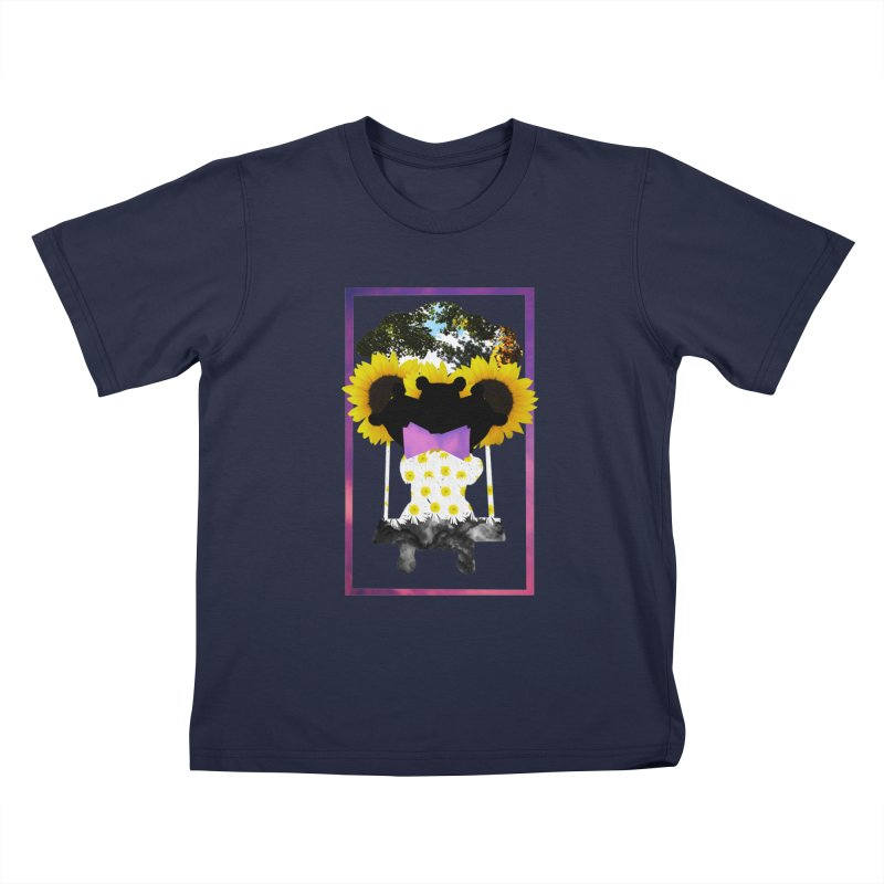 #nonbinarybear Kids T-Shirt by Later Louie's Artist Shop