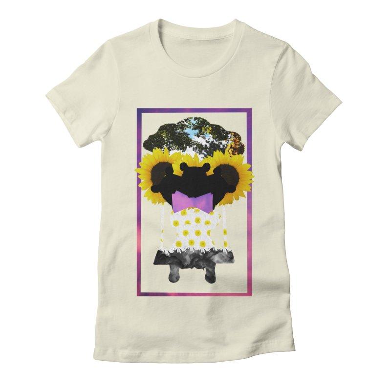 #nonbinarybear Women's Fitted T-Shirt by laterlouie's Artist Shop