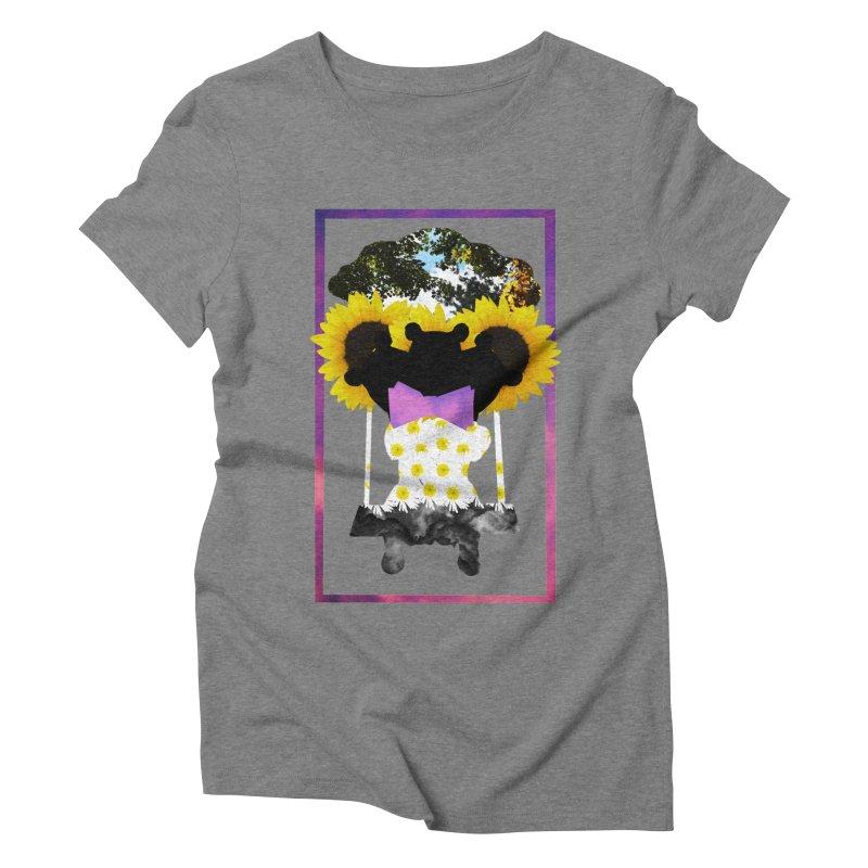 #nonbinarybear Women's Triblend T-Shirt by laterlouie's Artist Shop