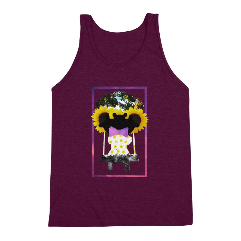 #nonbinarybear Men's Triblend Tank by laterlouie's Artist Shop