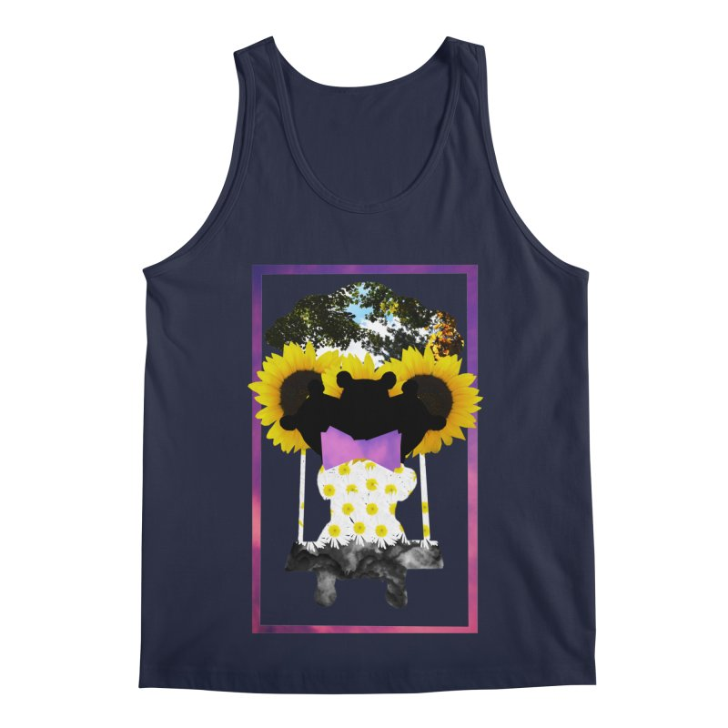 #nonbinarybear Men's Regular Tank by Later Louie's Artist Shop