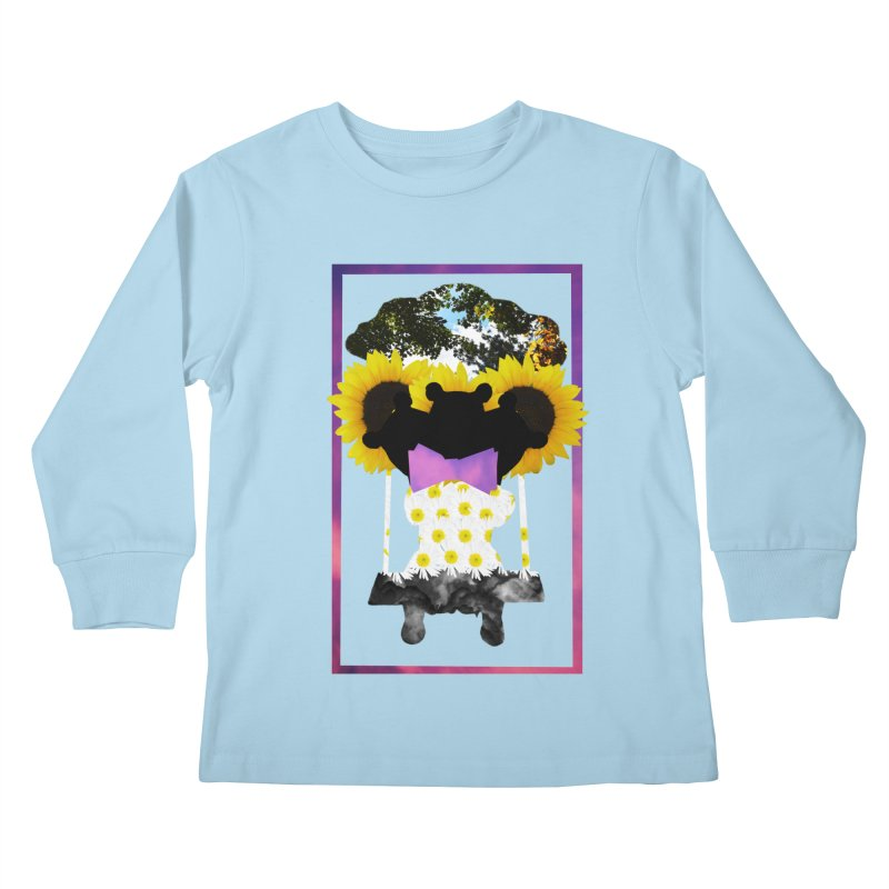 #nonbinarybear Kids Longsleeve T-Shirt by laterlouie's Artist Shop