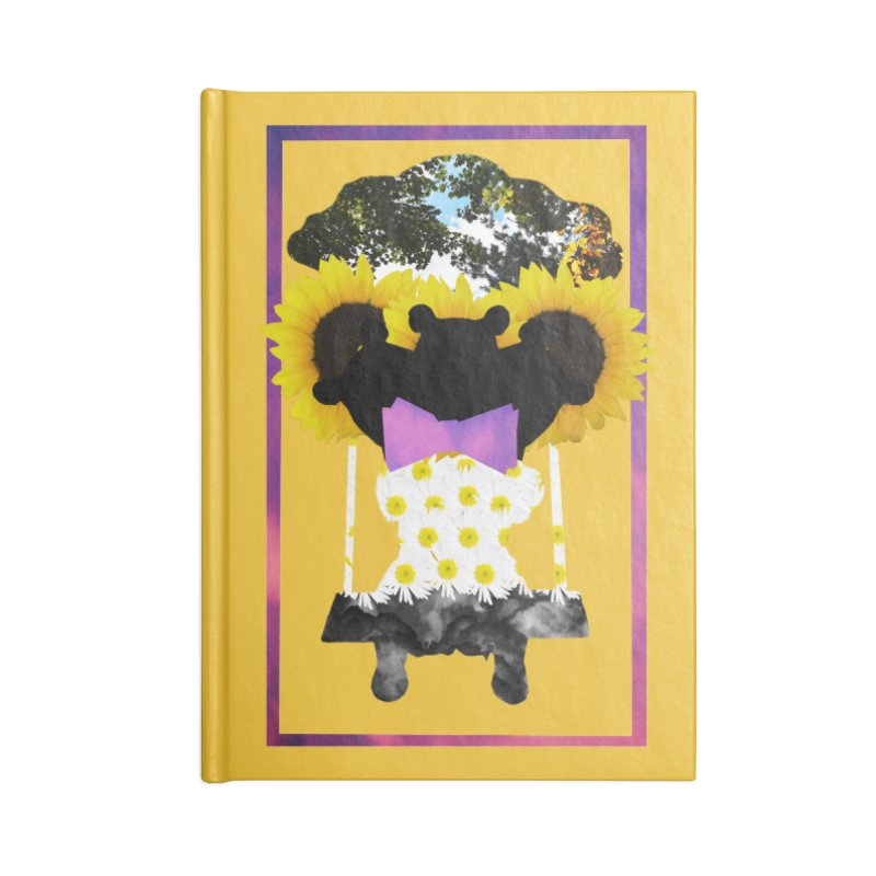 #nonbinarybear Accessories Lined Journal Notebook by Later Louie's Artist Shop