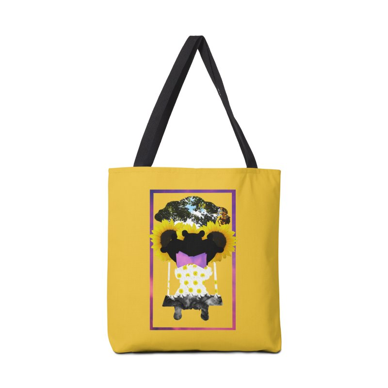 #nonbinarybear Accessories Bag by Later Louie's Artist Shop