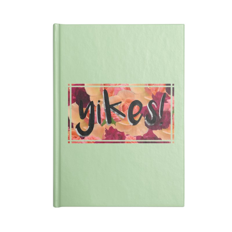 yikes! Accessories Notebook by laterlouie's Artist Shop