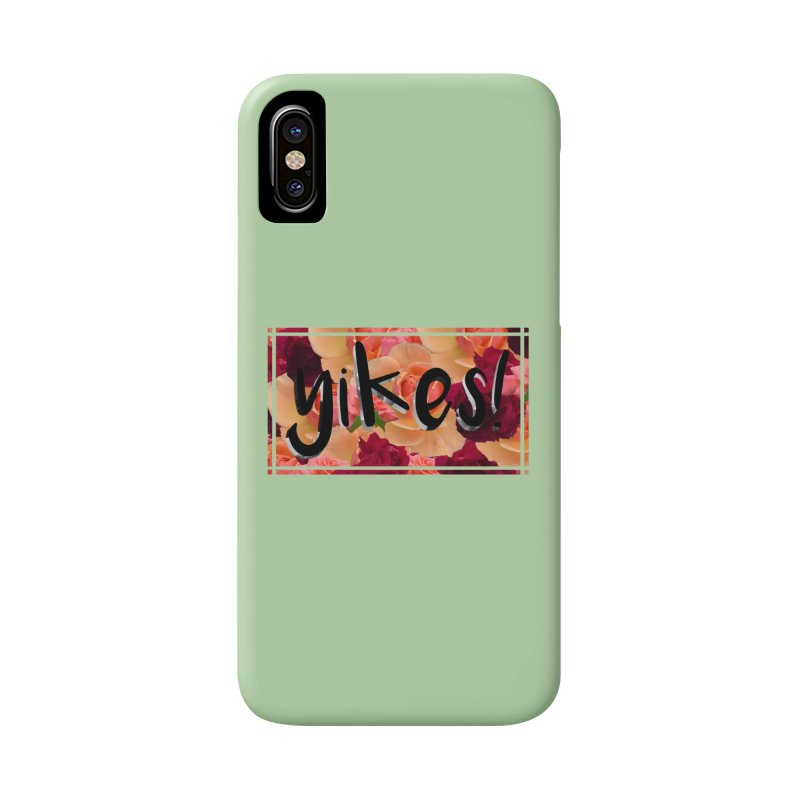 yikes! Accessories Phone Case by laterlouie's Artist Shop