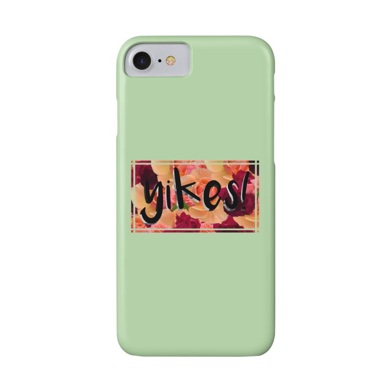 yikes! Accessories Phone Case by Later Louie's Artist Shop