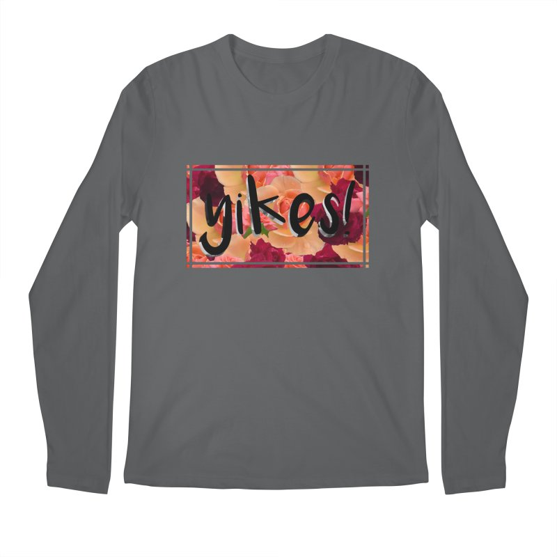 yikes! Men's Longsleeve T-Shirt by Later Louie's Artist Shop