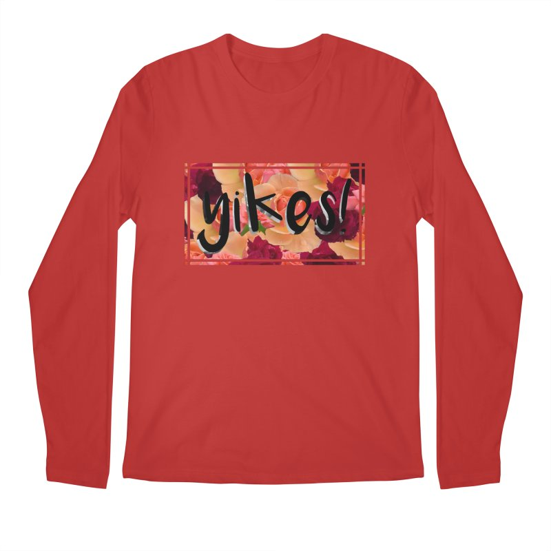 yikes! Men's Longsleeve T-Shirt by Later Louie's Artist Shop