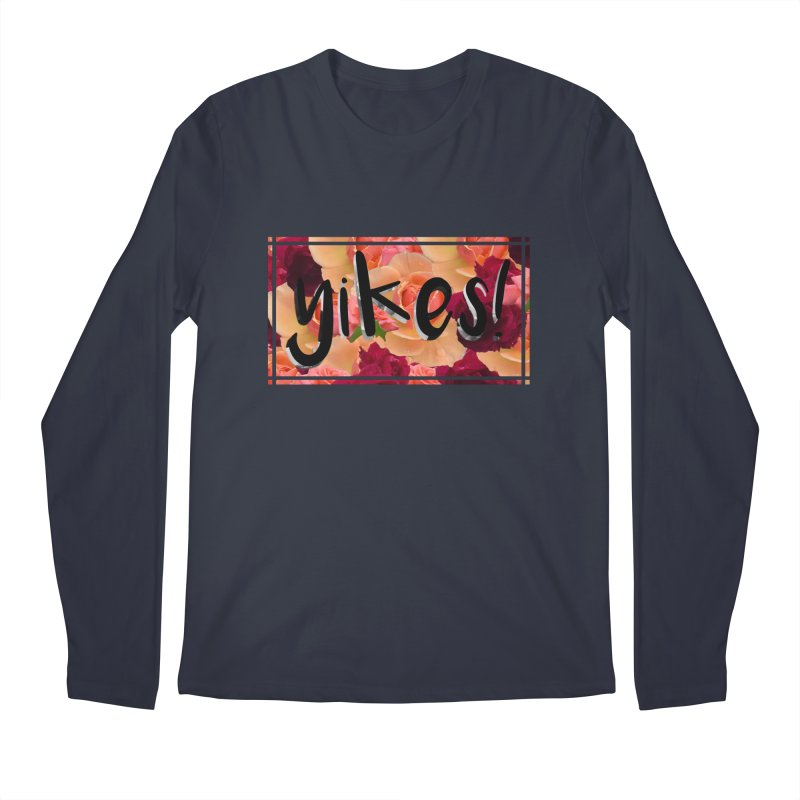 yikes! Men's Regular Longsleeve T-Shirt by laterlouie's Artist Shop
