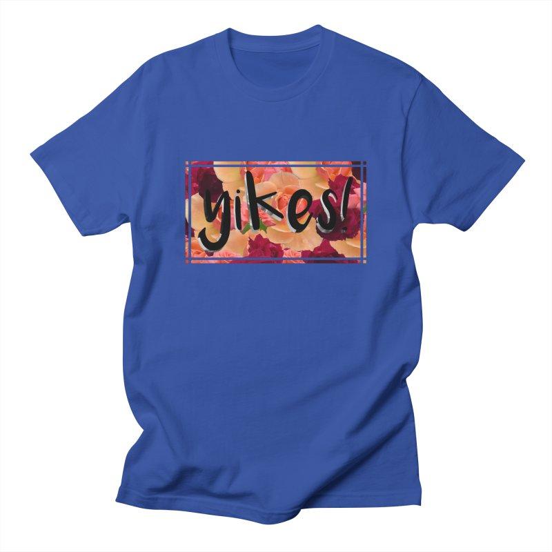 yikes! Men's Regular T-Shirt by Later Louie's Artist Shop