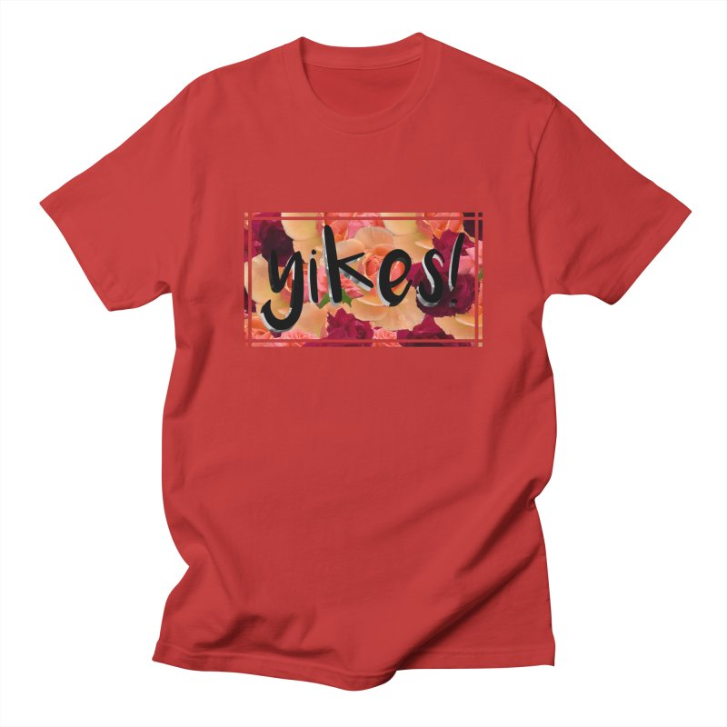 yikes! Men's T-Shirt by Later Louie's Artist Shop