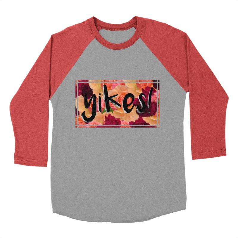 yikes! Men's Baseball Triblend Longsleeve T-Shirt by Later Louie's Artist Shop