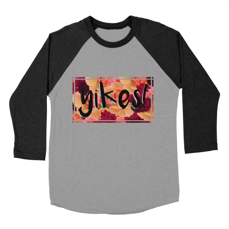 yikes! Men's Baseball Triblend Longsleeve T-Shirt by laterlouie's Artist Shop