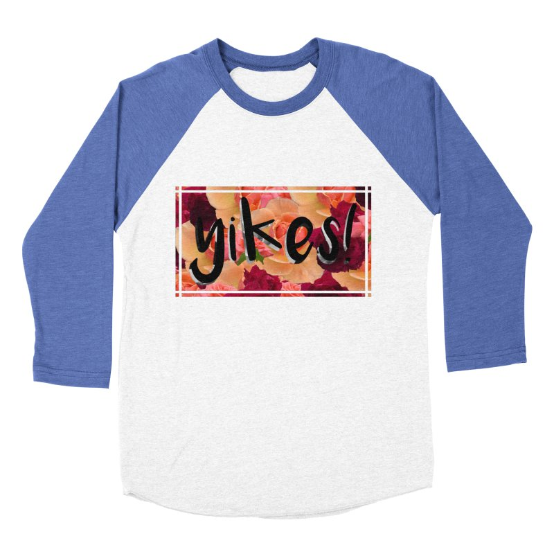 yikes! Men's Baseball Triblend Longsleeve T-Shirt by Later Louie's Artist Shop