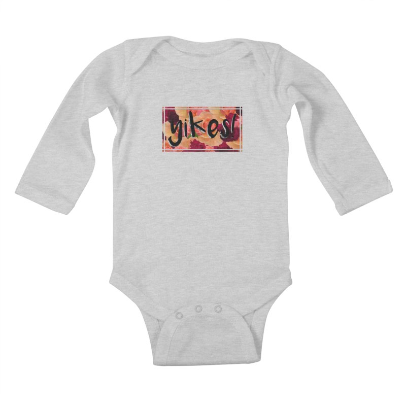yikes! Kids Baby Longsleeve Bodysuit by laterlouie's Artist Shop